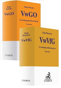 Kopp / Schenke & Kopp / Ramsauer, Vorauflagen des VwGO- und VwVfG-Kommentars, 25. Auflage / 20. Auflage