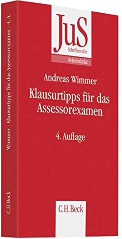Wimmer, Klausurtipps für das Assessorexamen, 5. AKTUELLE Auflage 2016
